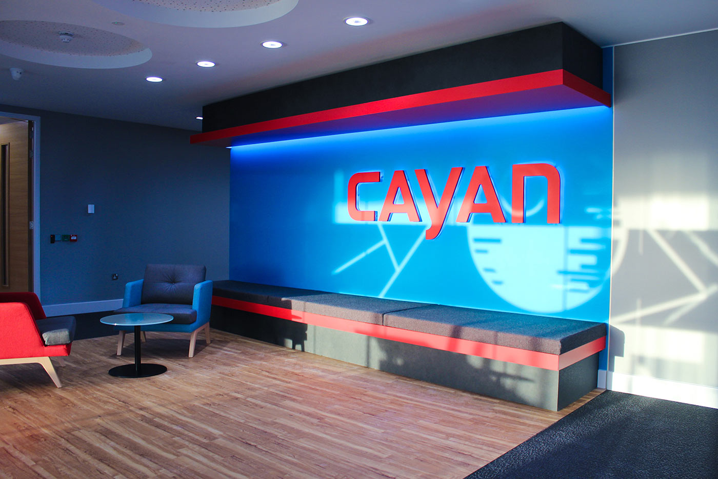 Cayan Reception Fit-out