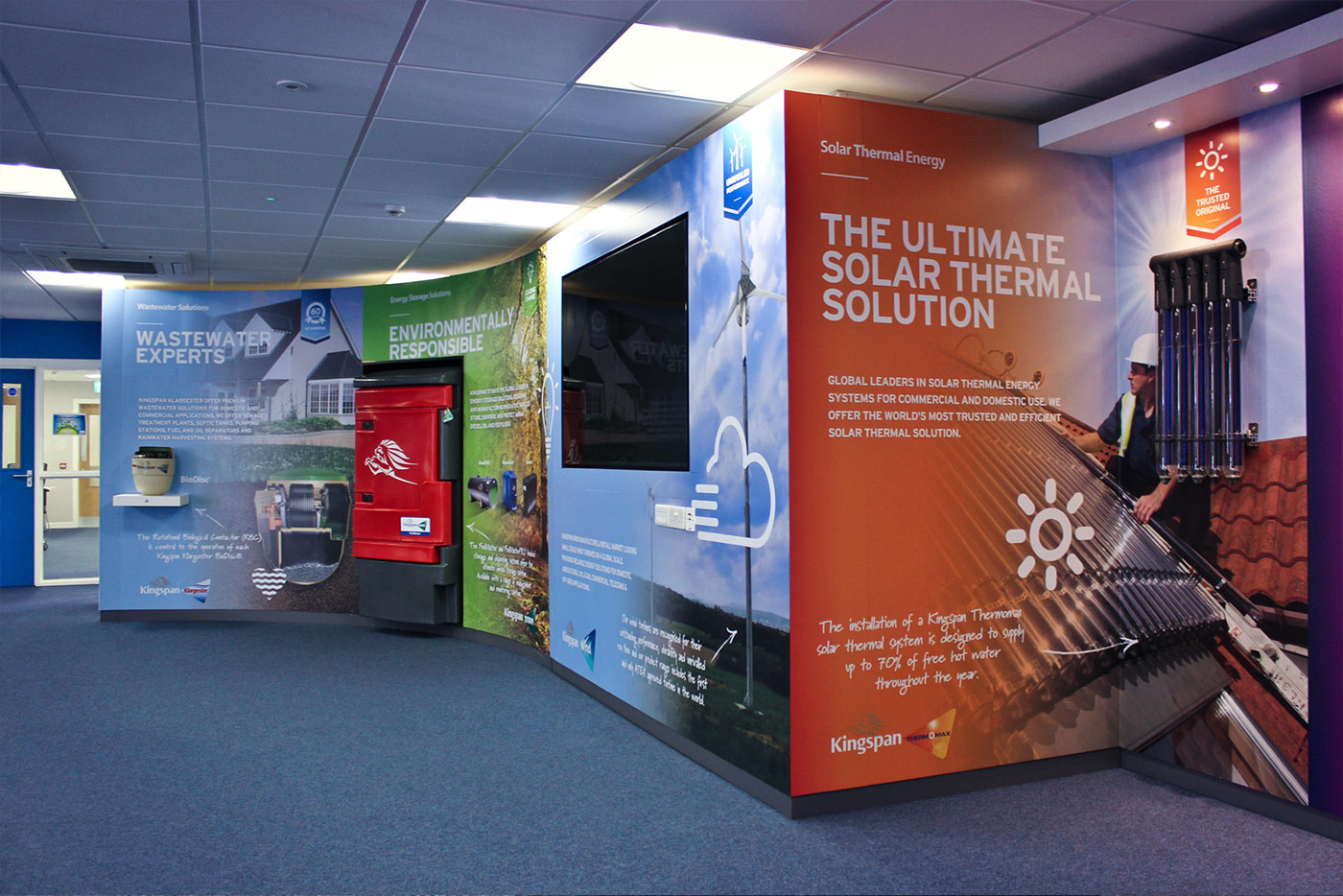 Kingspan Showroom Fit-out