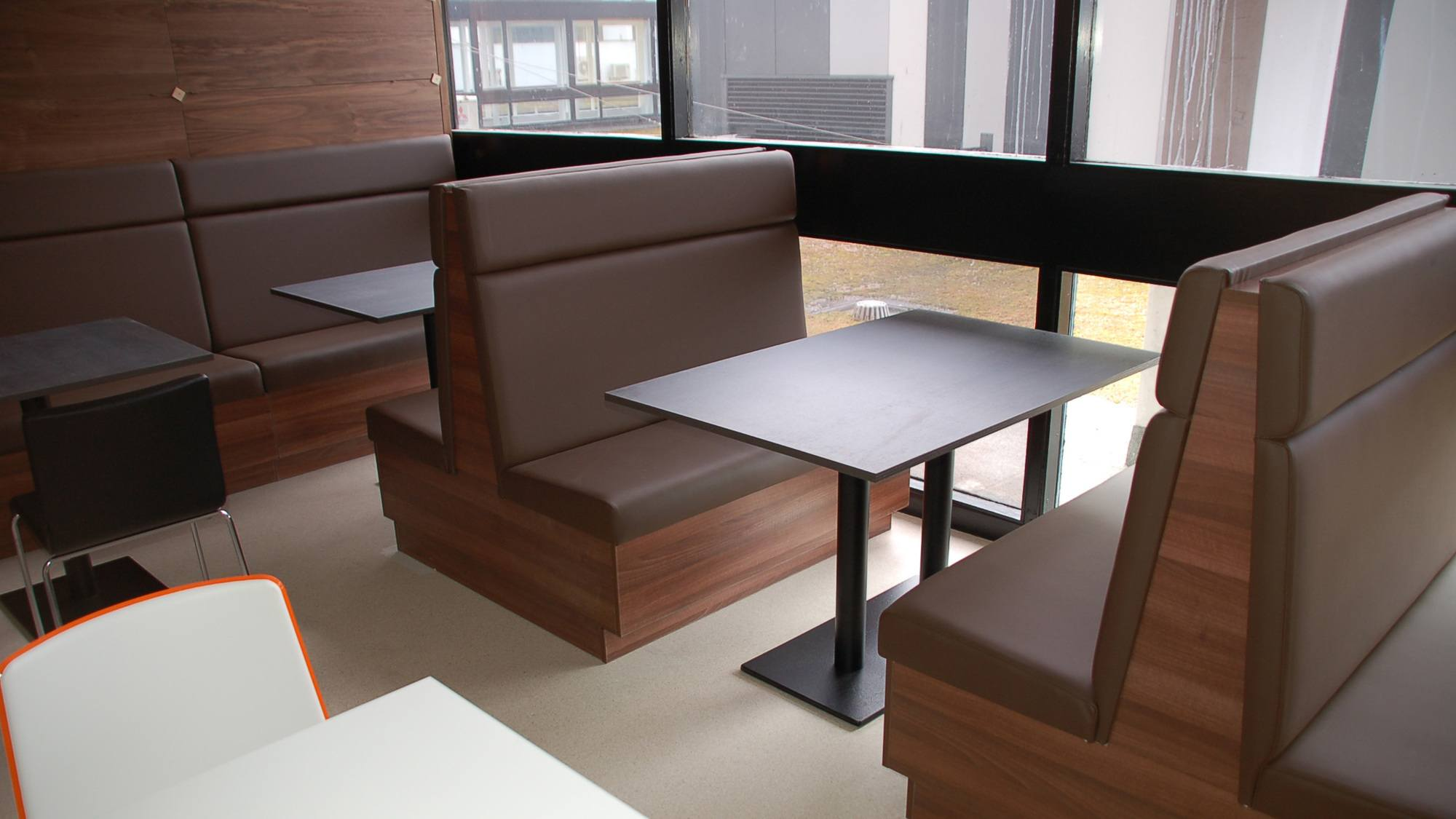 Seating for Aberdeen Royal Infirmary canteen