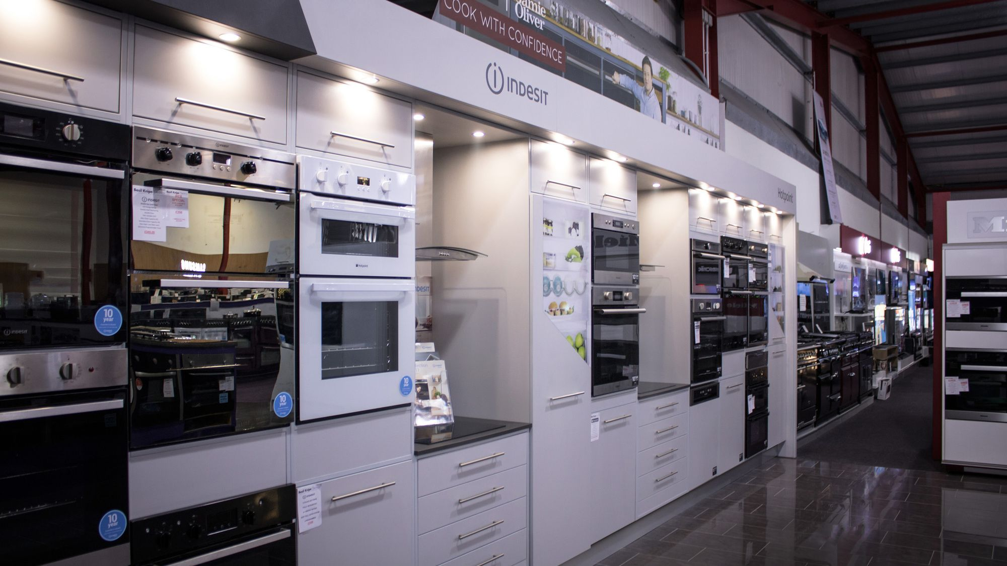 Retail interior and fit-out Hotpoint UK