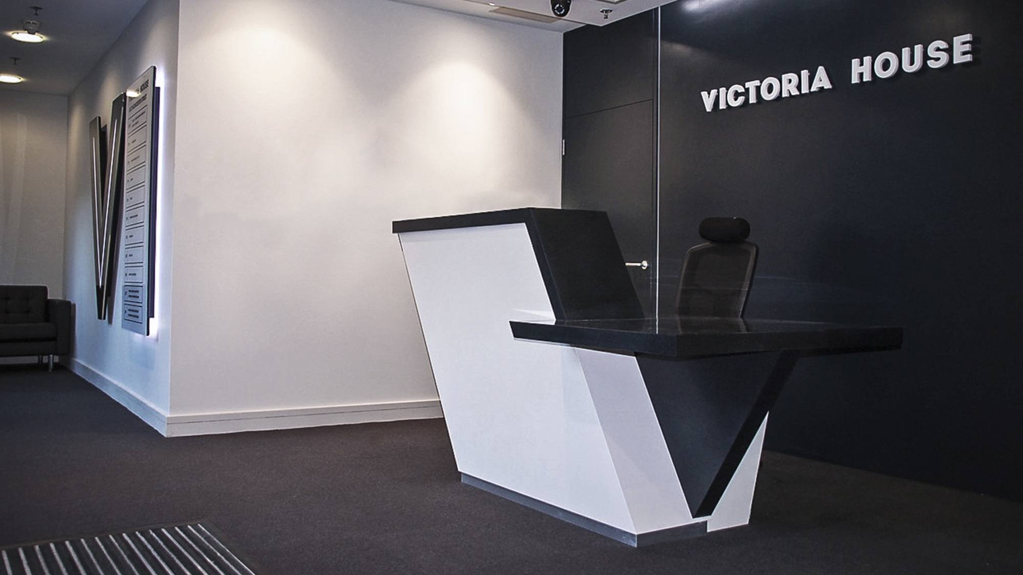 Manufacture and Installation Belfast fit out for Victoria House