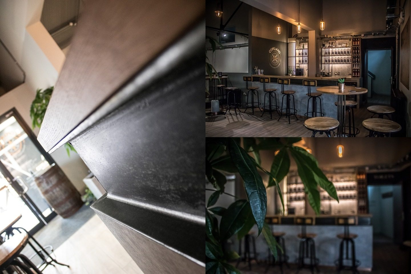 Copeland Distillery interor fit out detail