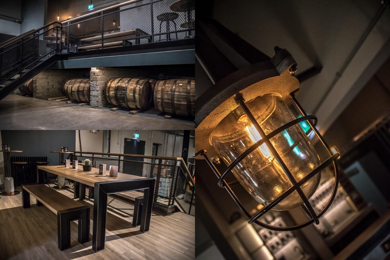 Copeland Distillery interior