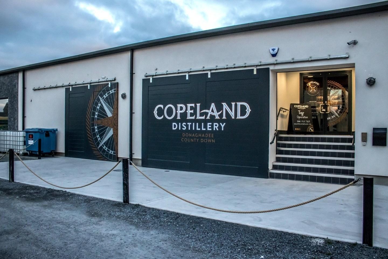 Copeland Distillery's new Helaform sliding doors