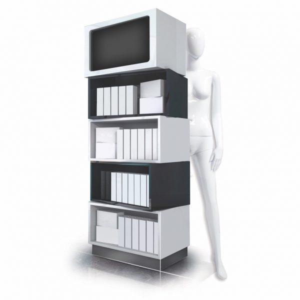 The Tupelo - a modular, box on box POS display unit